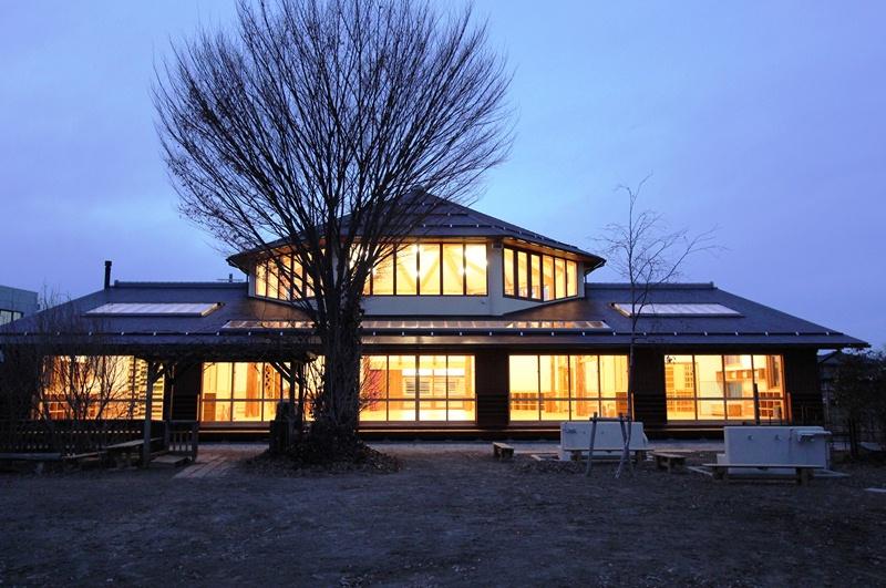 上高田保育園:外観